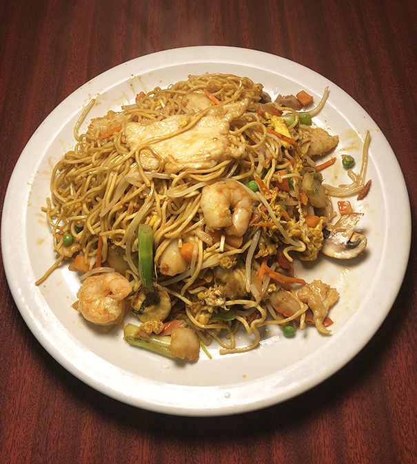 Pan Fried Noodle ( Singapore Style )